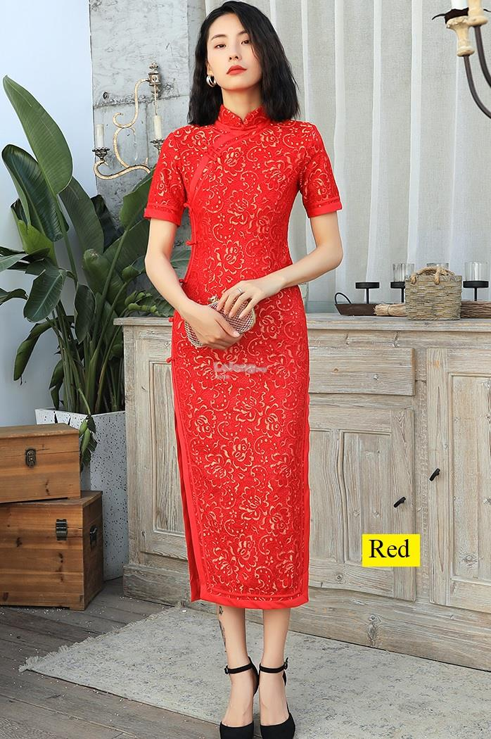 CNY 2020JN – Oriental Lace Cheongsam for women