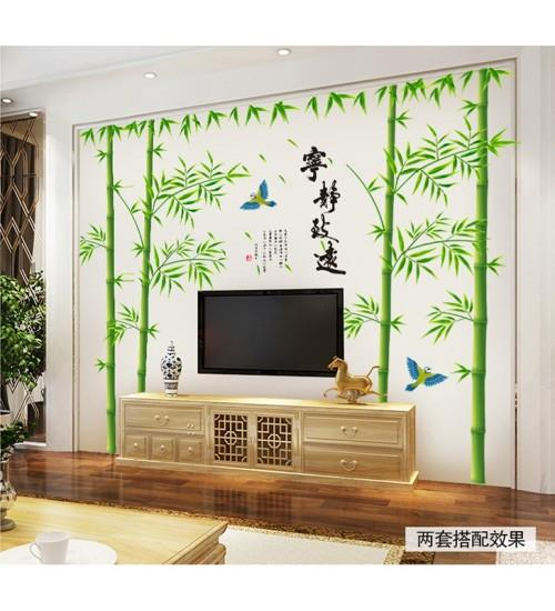 Cny Home Decor: Chinese Style Bamboo Wall Art R (end 3/6/2018 6:15 PM