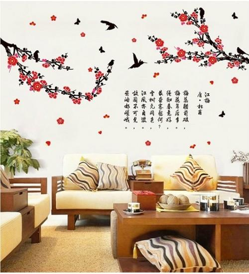 New Year Home Decoration: Chinese Style Plum Flowers Blos (end 3/9/2018 5:15 PM