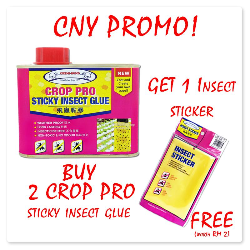 CNY PROMO-Crop Pro Sticky Insect Glue [Buy 2 free 1pc insect sticker]