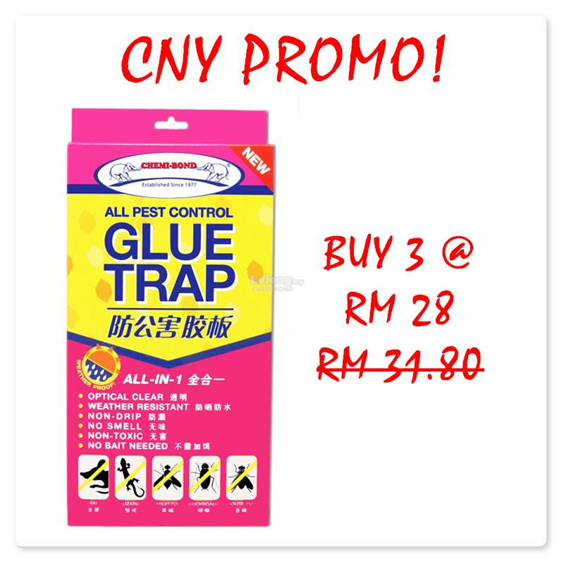 CNY PROMO-All Pest Control Glue Trap  Buy 3 @ RM28