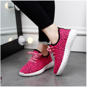 Cny Promotion - Grey / Pink canvas sneakers / running shoe
