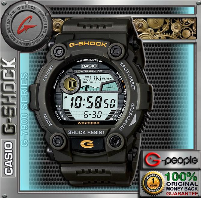 CNY SALE !!! CASIO G-SHOCK G-7900-3DR / G-7900A WATCH ☑ORIGINAL&