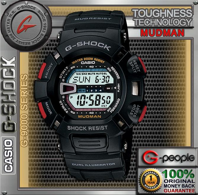 CNY SALE !!! CASIO G-SHOCK G-9000-1V MUDMAN WATCH ☑ORIGINAL&#974