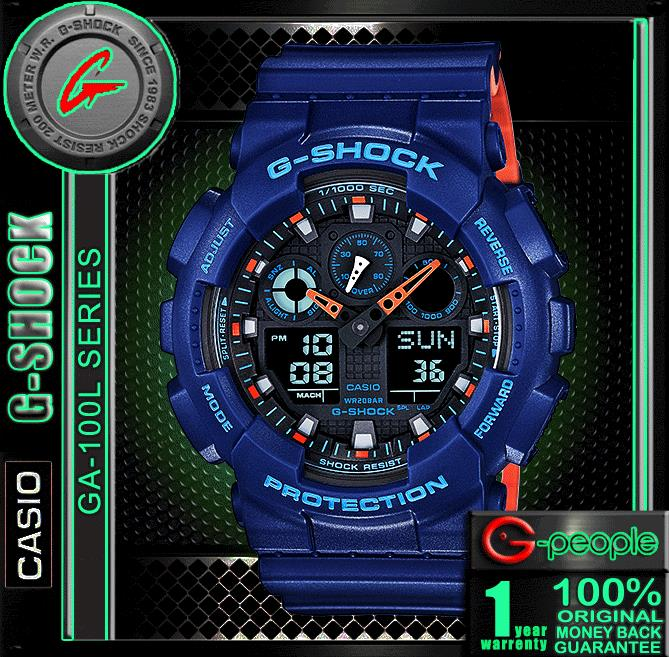 CNY SALE !!! CASIO G-SHOCK GA-100L-2A WATCH ☑ORIGINAL☑