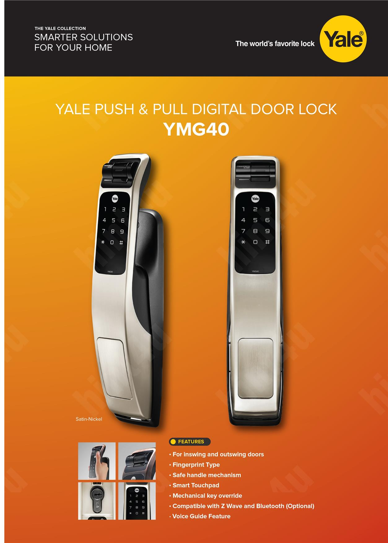 lever small nextouch wave en business residential z wireless cylindrical lock door yalehome us yale ftscreen