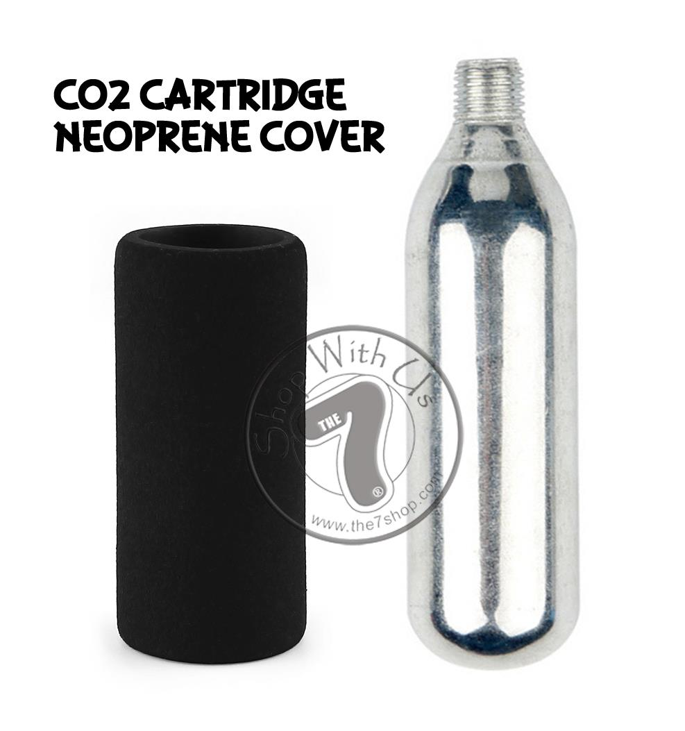 CO2 Cartridge Neoprene Cover