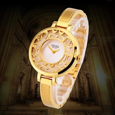 f0c56cb09d7 Coach Women s Gold Stainless Steel S (end 6 6 2017 10 15 AM)