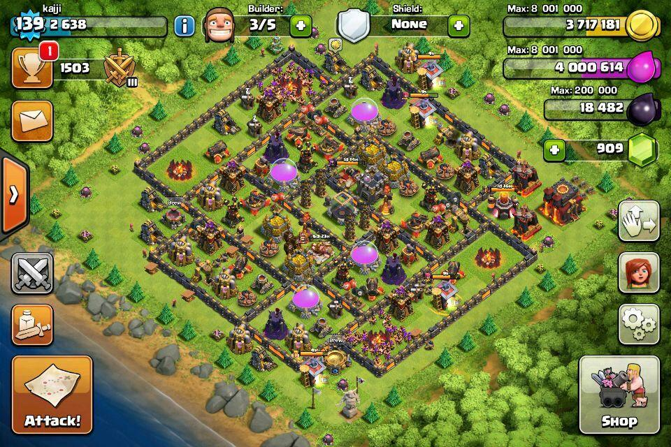 coc clash of clan acc. ‹ ›