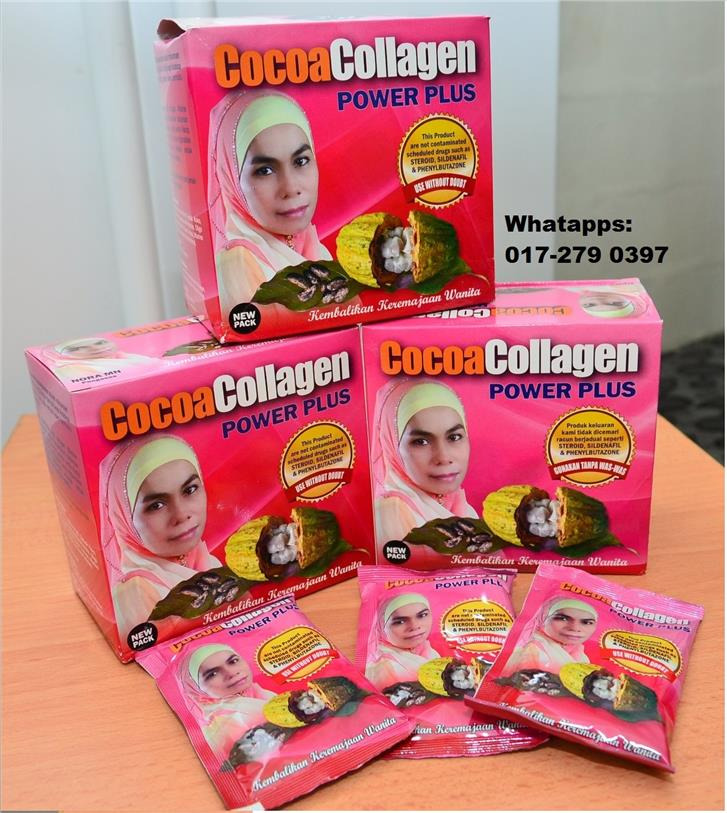 COCOA COLLAAGEN POWER PLUS (3BOX) FREE SHIPPING