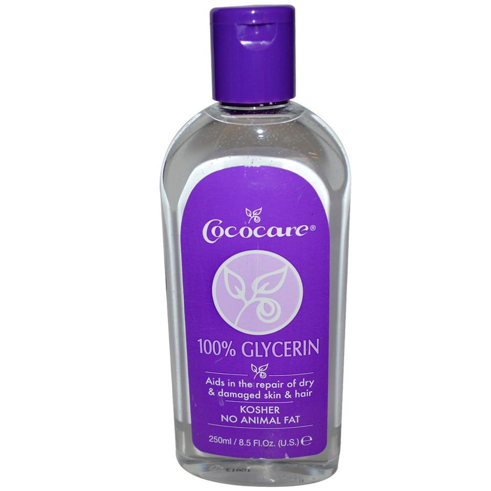 Cococare, 100% Glycerin, Repair Dry & Damaged Skin (250 ml)