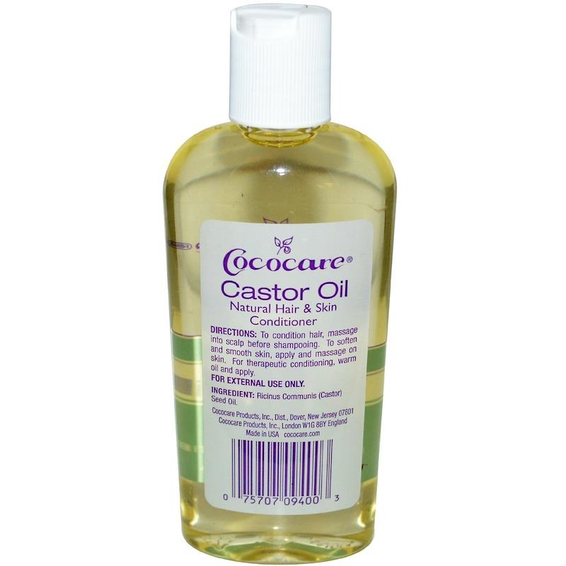 Cococare, 100% Natural Castor Oil (118 ml)