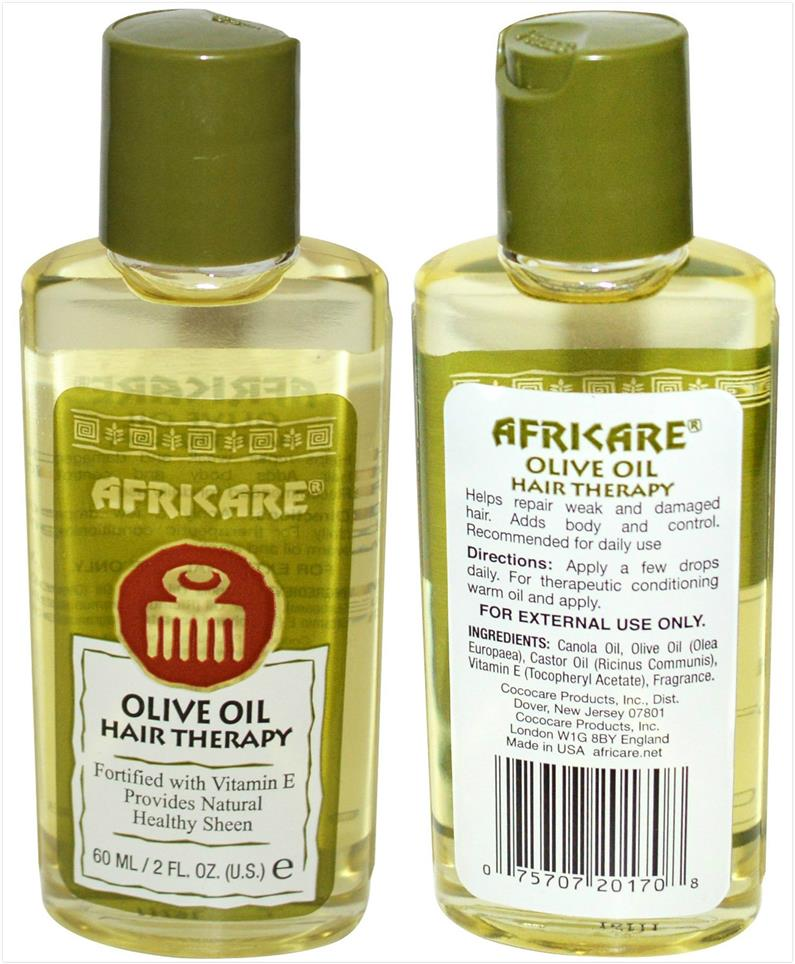 Cococare, Africare, Olive Oil Hair Therapy (60 ml)