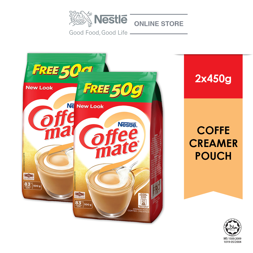 COFFEE-MATE Pouch 450g Free 50g Buy 2
