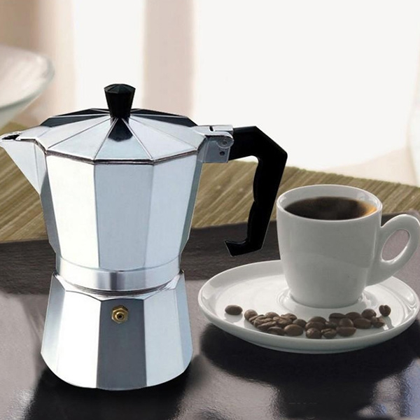 Coffee Pots - Coffee Pot Aluminum Dripolator European Coffee Kettle Tu..