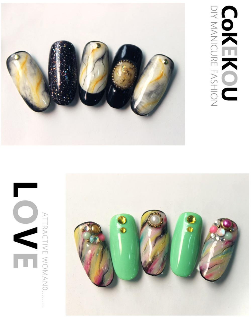 Cokekou Nail Art UV Led Color Gel P (end 1/18/2021 12:00 AM)