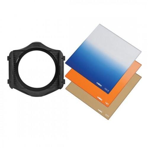 Cokin H210 Landscape Filter Kit-1 P Series (Filter Holder, Warm 81-EF ..