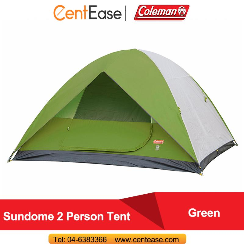 Coleman Sundome 2 Person Tent Green (2000019182)  sc 1 st  Lelong.my & Coleman Sundome 2 Person Tent Green ( (end 7/1/2019 5:47 PM)