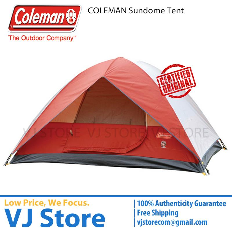 ... Coleman Sundome Tent 2P 3P 4P 6P  sc 1 st  New Price List Philippines & Coleman Tent Sundome 6p 10 X 10 Red - New Price List Philippines