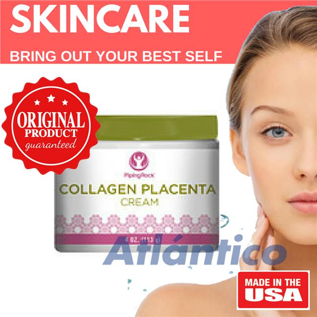 Collagen & Placenta Night Cream 113g Jar (Skin Beauty Moisturiser)