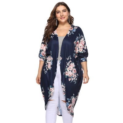 e0a291ac11f Collarless 3 4 Sleeve Floral Print P (end 5 4 2021 12 00 AM)