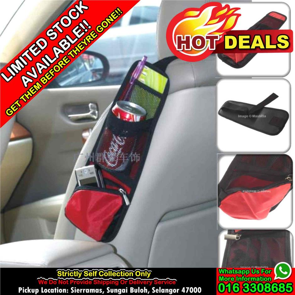 [SELF COLLECT ONLY] Car Vehicle Seat Side Back Storage Store Pocket Ba