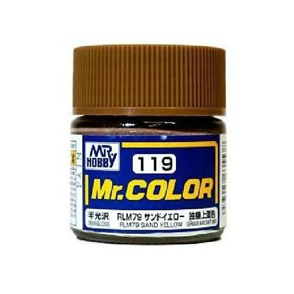 Mr Color 119 RLM79 Sand Yellow