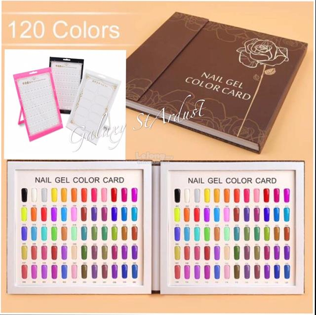 Color Shades Card Book,Nail Art Displ (end 8/6/2019 5:40 PM)