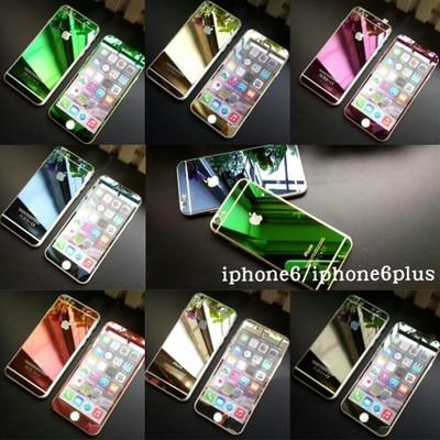 iphone 6 colors front. color tempered glass front\u0026back screen protector for iphone 6/6 plus 6 colors front