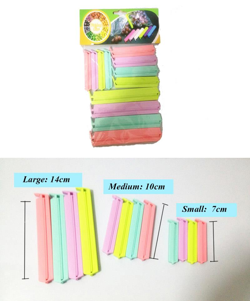 Colored Plastic Bag clip