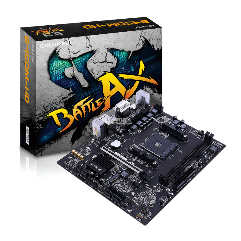Colorful AMD Battle-Axe B450M-HD V14 Motherboard AM4 DDR4