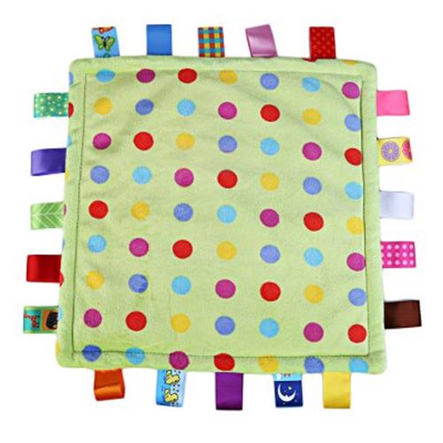 colorful babies appease square soft towel toy enhance