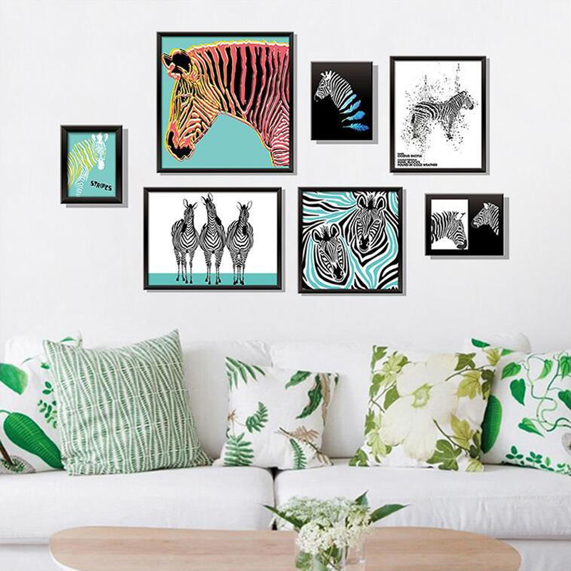 colorful horse wall sticker home deco (end 3/8/2019 6:00 am)