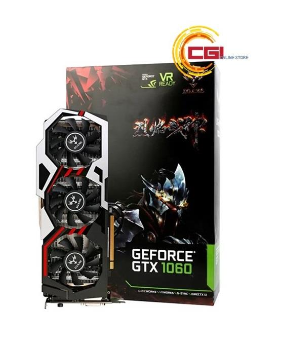 Colorful iGame GeForce GTX 1060 U-TOP DDR5 6GB Graphic Card