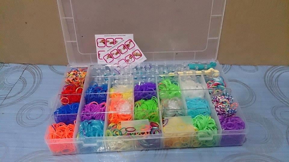 Colorful Loom Band Starter Kit Set Diy Rubber Bracelet