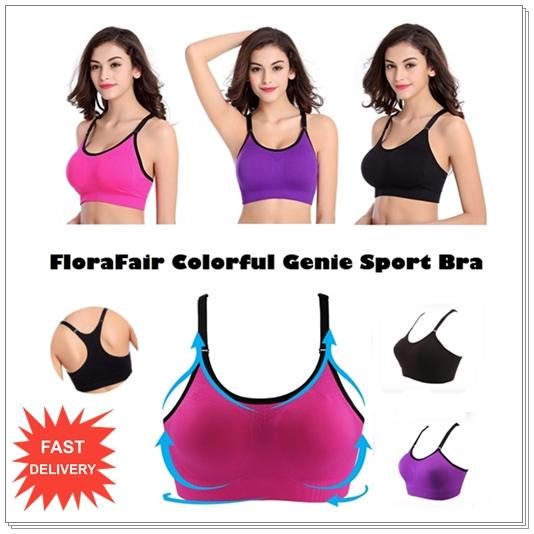 911f39017a Colorful Seamless Genie Sport Bra - (end 8 19 2020 11 15 PM)