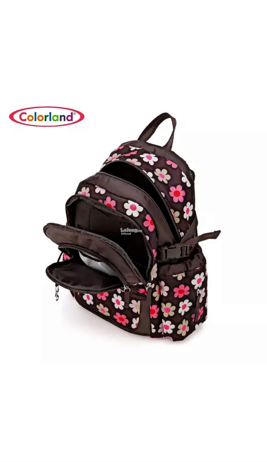 Colorland Abbey Ergo Baby Changing Backpack - Type B