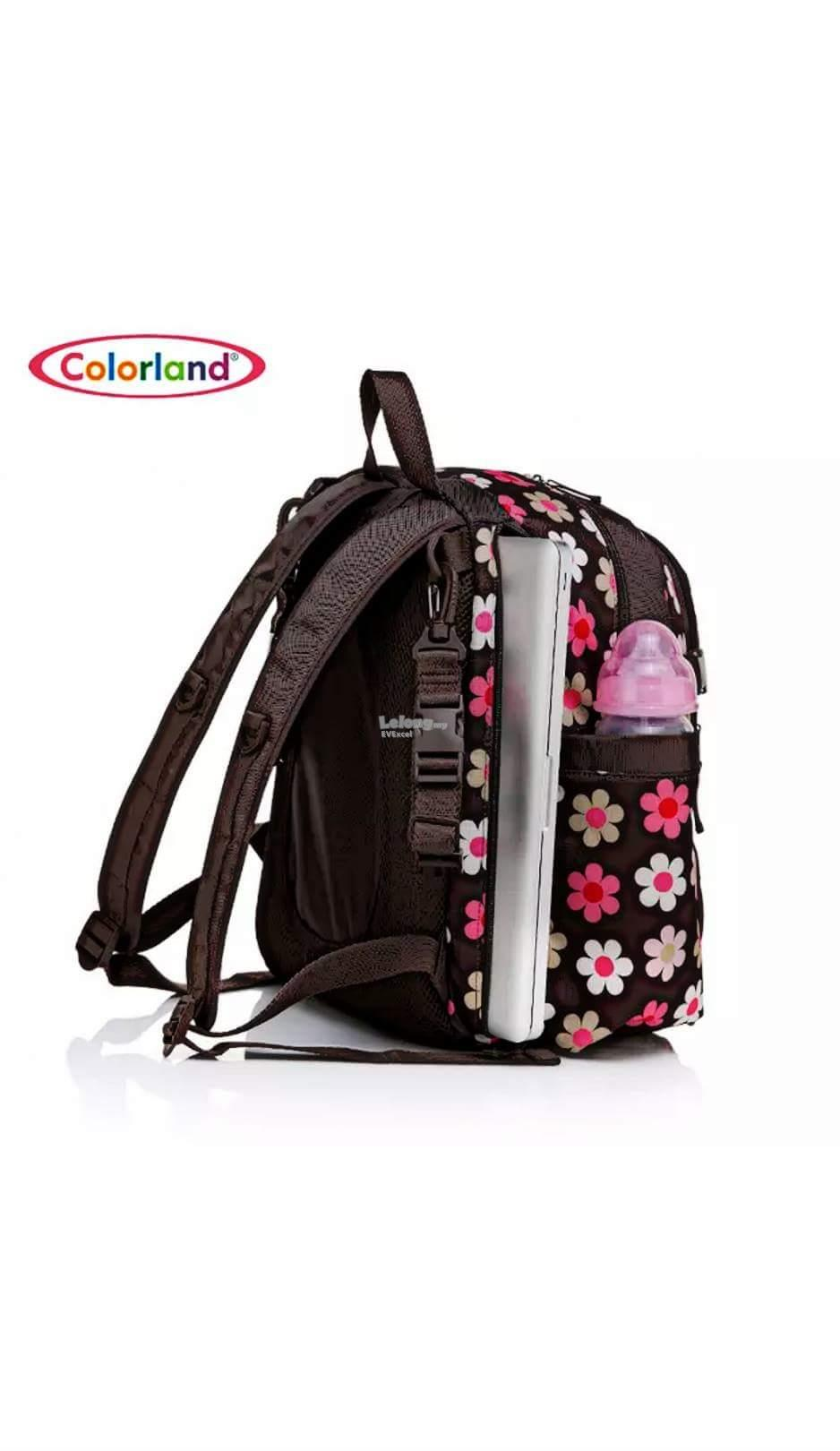 Colorland Abbey Ergo Baby Changing Backpack - Type A