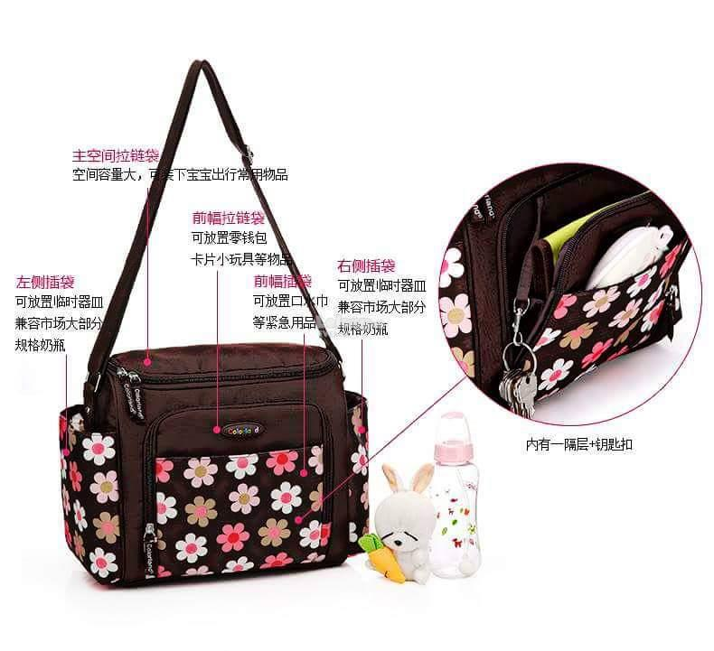 Colorland Angelia Medium Shoulder Baby Changing Bag - Type B