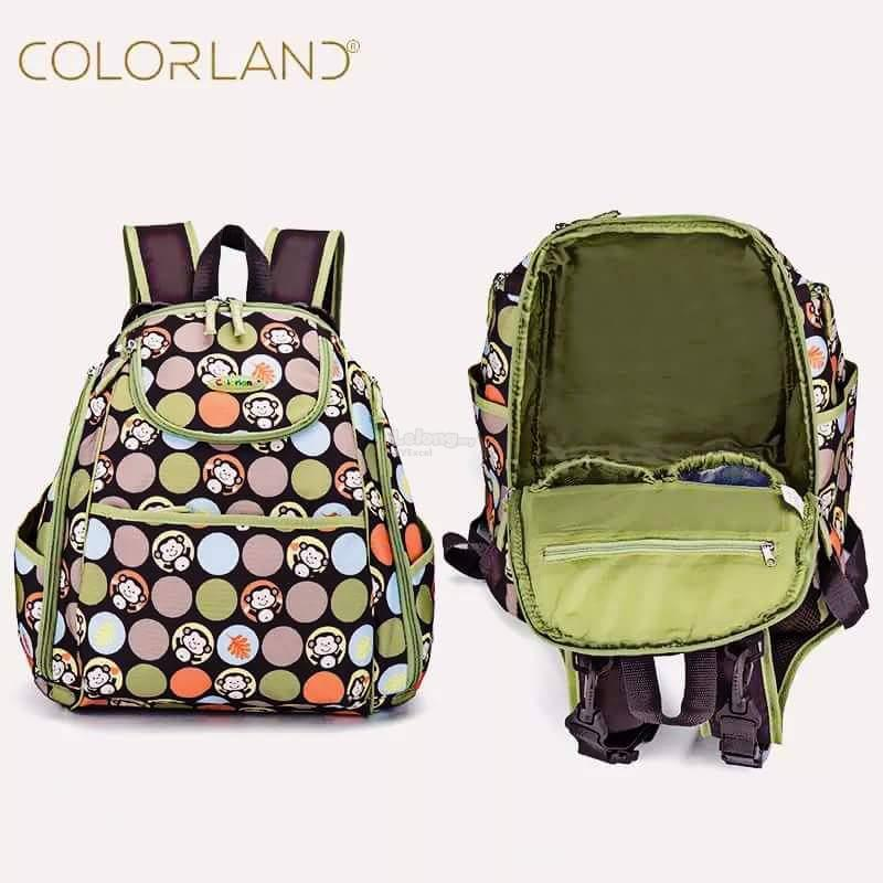 Colorland Mary Petite Baby Changing Backpack - Type C