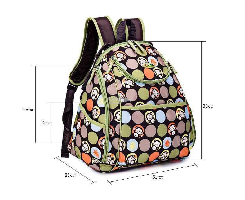 Colorland Mary Petite Baby Changing Backpack - Type D