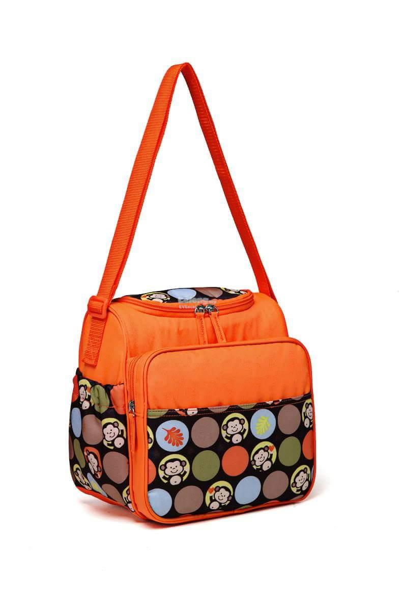 colorland Miranda Petite Shoulder Baby Changing Bag (Orange)