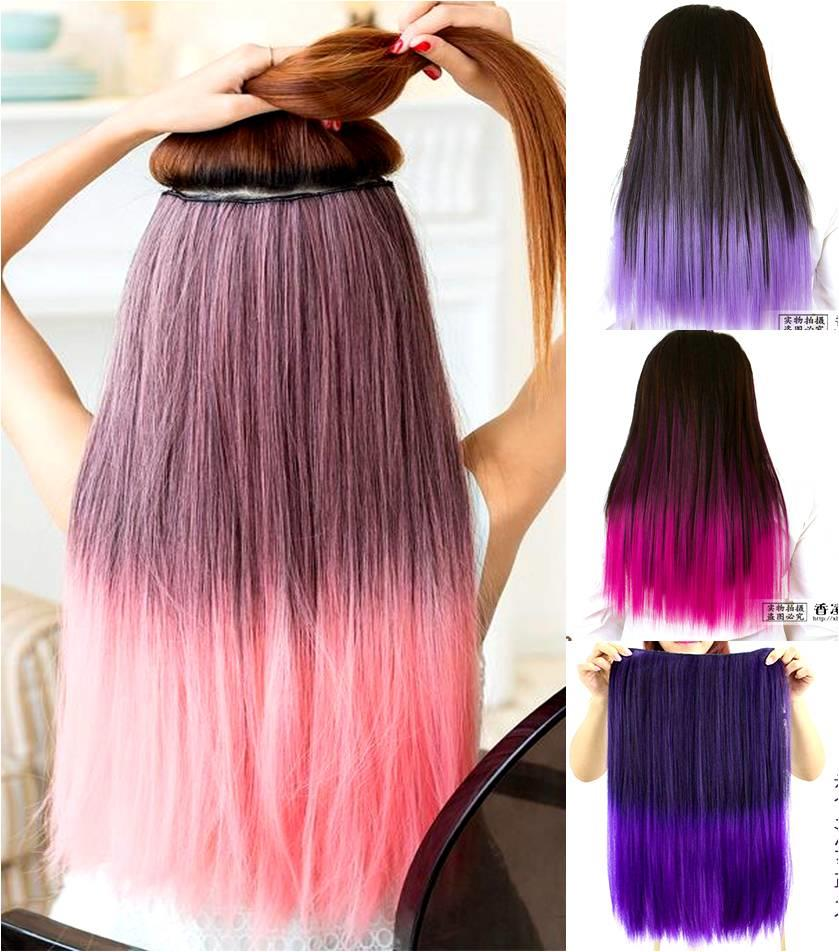 Colour Wig extension*Z1688/ rambut palsu/ ready stock
