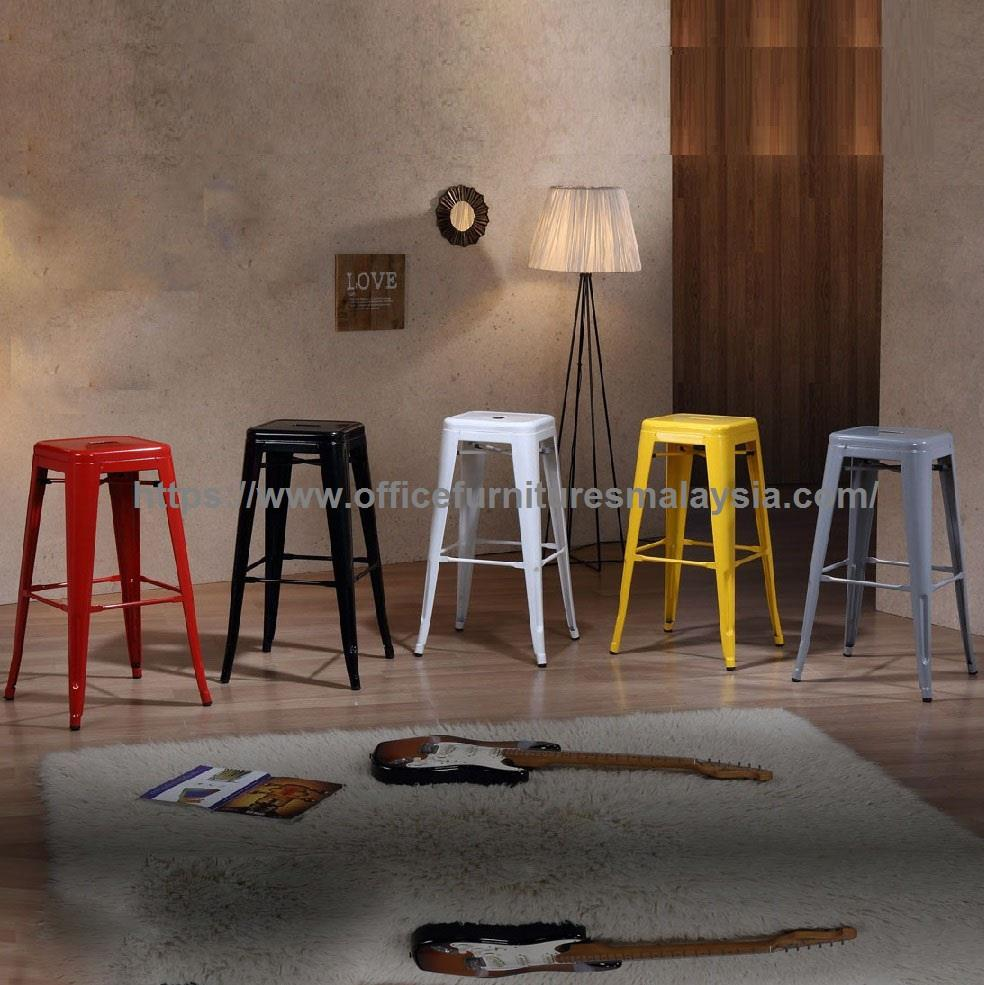 Strange Coloured Industrial Style Metal Bar Stool Ygbsd 887R Bl Sv W Ye Oug Andrewgaddart Wooden Chair Designs For Living Room Andrewgaddartcom