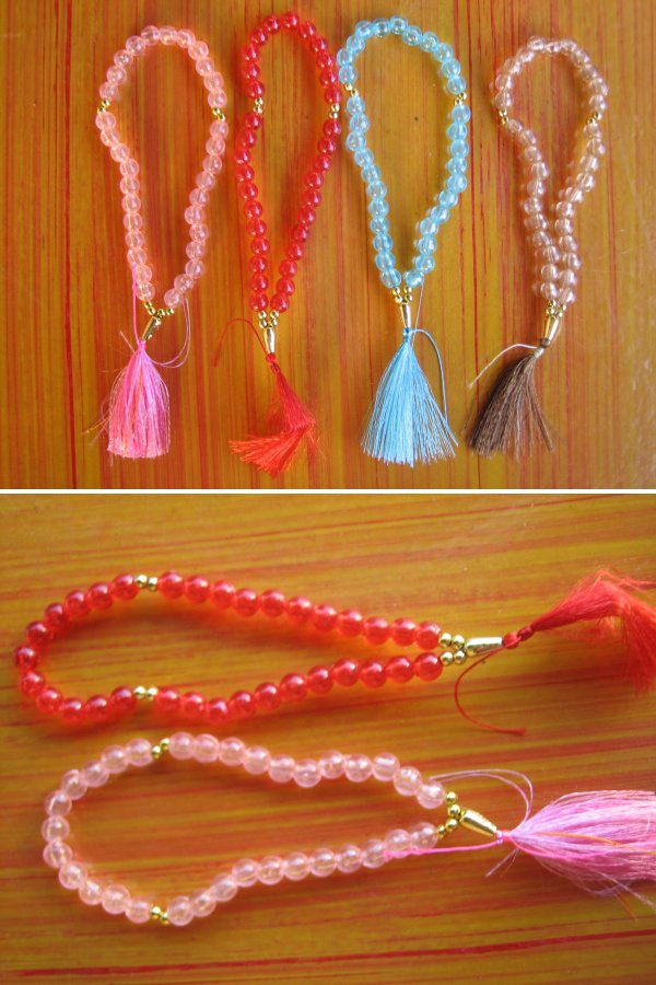 <B>COLOURFUL MINI TASBIH SUITABLE FOR GIFTS & SOURVENIRS</B>