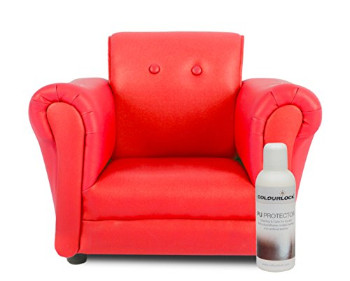 Colourlock PU/Bicast/Faux Leather Protector for Furniture Suite, Sofa, Settee,
