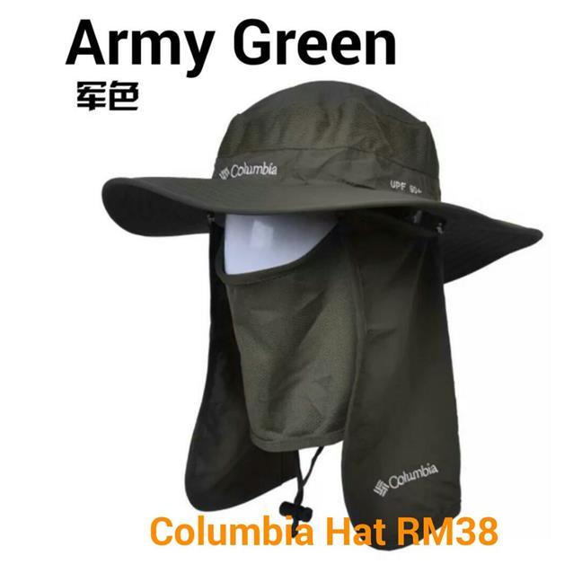 COLUMBIA HAT CAP ANTI UV (end 4 19 2019 5 15 PM) 1e9b0bf0739