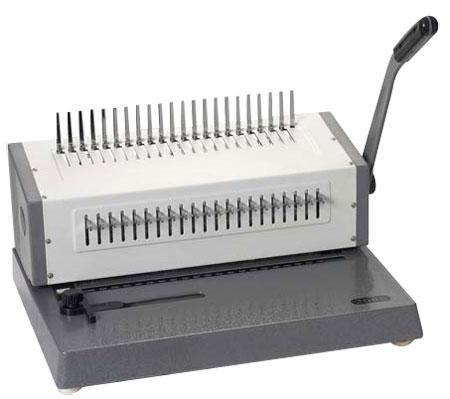 COMB BINDING MACHINE (HEAVY)-whole life warranty for cutter