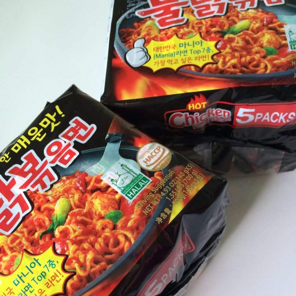 COMBO PACK! 10x140g HALAL Samyang Hot Chicken Spicy Ramen KOREA