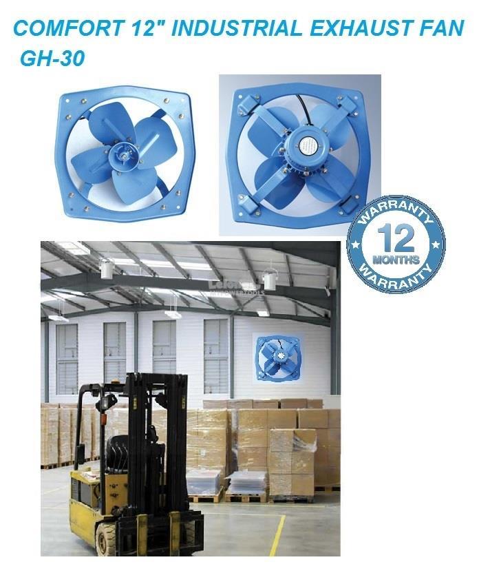 Comfort 12' (300mm) Heavy Duty Industrial Exhaust Fan